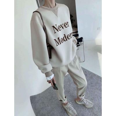 NEVER MODERN衛衣