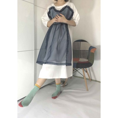 Flicka網紗設計靚料連身裙