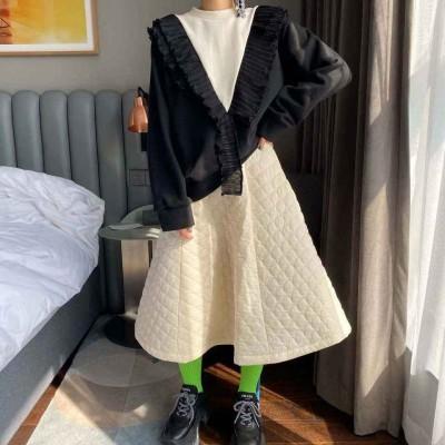 隔棉半身裙