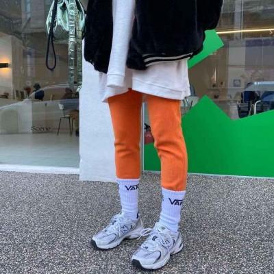 橡筋腰棉legging