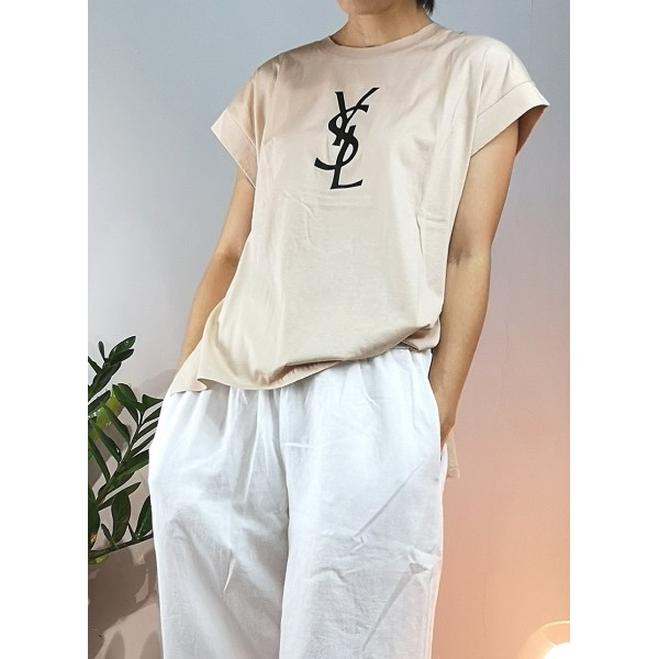 H and YSL Tee