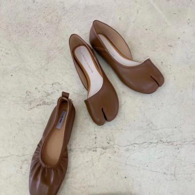 La More 超纖春夏系列006 馬蹄側空平底鞋